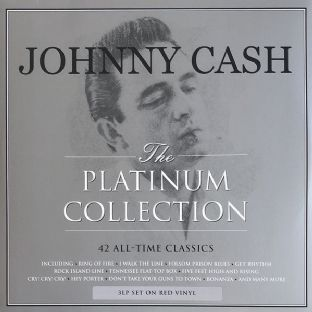 Johnny Cash ‎– The Platinum Collection (3 x LP) (180g Red Vinyl) (M/M) (Sealed)